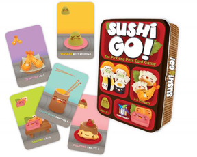 Sushi Go Card Game - Game Wright