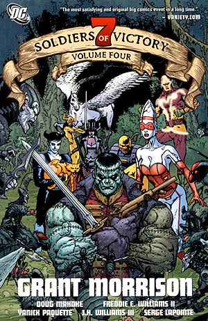 7 Soldiers of Victory: Volume 4: Grant Morrison - Used