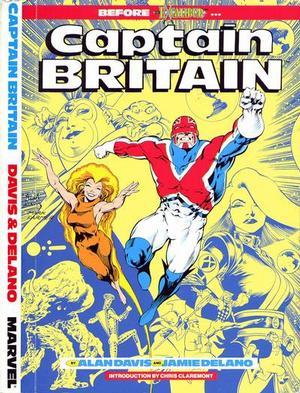 Captain Britain Before Excalibur - Used