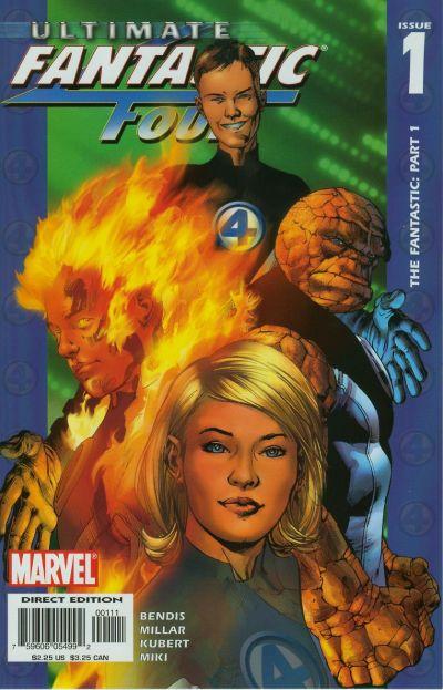 Marvel: Ultimate Fantastic Four: Vol 1: The Fantastic - Used