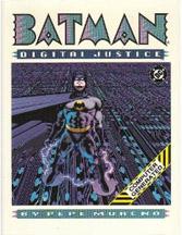 Batman: Digital Justice: Computer Generated HC - Used