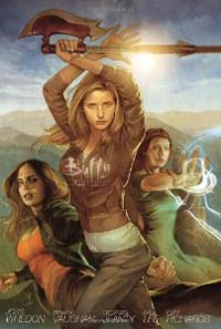 Buffy the Vampire Slayer: Season 8: Volume 1: Library Edition HC