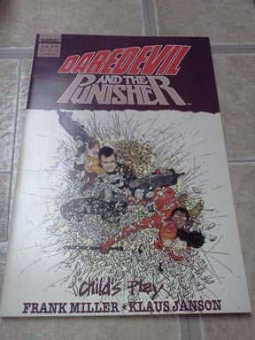 Daredevil and the Punisher: Childs Play (1988) - Used