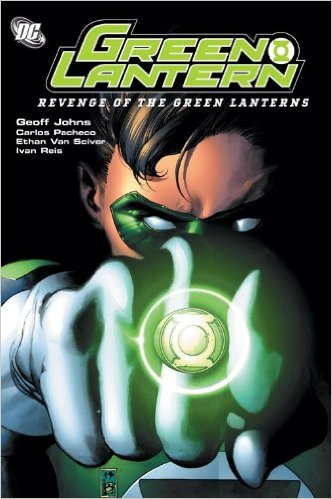Green Lantern: Revenge of the Green Lanterns TP (Green Fit) - Used