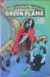 Green Lantern/Superman: Legend of the Green Flame - Used