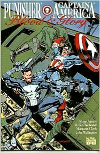 Marvel Comics: Punisher and Captain America: Blood and Glory (1992) - Used