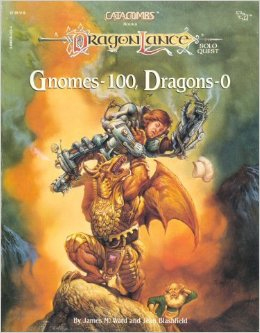 Dungeons and Dragons 1st Ed: Dragonlance: Gnomes-100, Dragons-0 - Used
