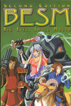 BESM: Big Eyes, Small Mouth 2nd ed - Used