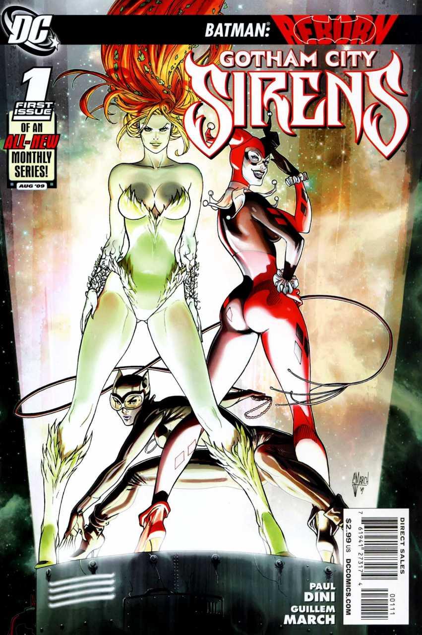 Gotham City Sirens (2009) no. 1 - Used