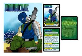 Sentinels of the Multiverse Card Game: Ambuscade Mini-Expansion
