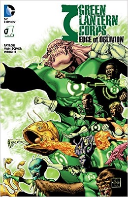 Green Lantern Corps: Edge of Oblivion (2016) Complete Bundle - Used