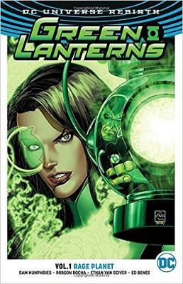 Green Lanterns: Volume 1: Rage Planet TP
