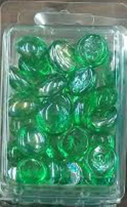 Green Gaming Stones (2)