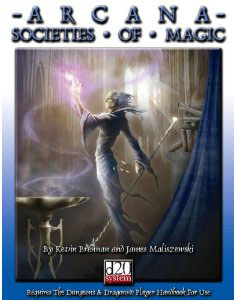 D20: Arcana Societies of Magic - Used