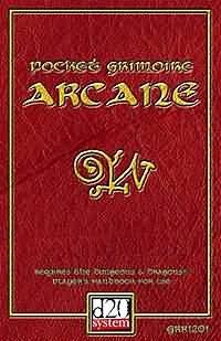 D20: Pocket Grimoire Arcane - USED