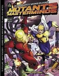 Mutants and Masterminds 2nd ed Hard Cover - Used