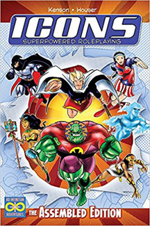 Icons Superpowered Role Playing HC - USED