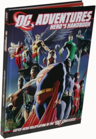 DC Adventures: Hero's Handbook - Used