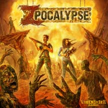 Zpocalypse Board Game - USED - By Seller No: 20 GOB Retail