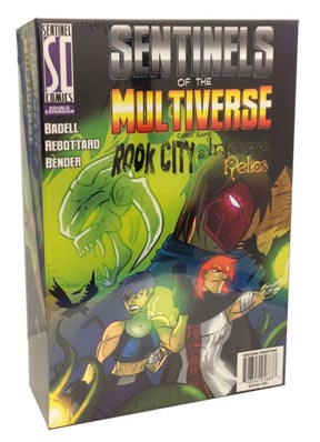 Sentinels of the Multiverse Card Game: Rook City and Infernal Relics Pack