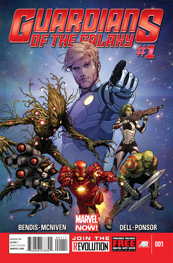 Guardians of the Galaxy no. 1 - Used