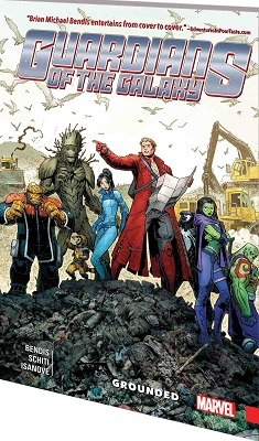 Guardians of the Galaxy: New Guard Volume 4: Grounded TP