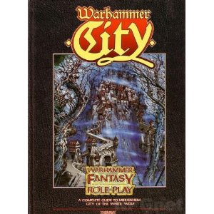 Warhammer Fantasy Roleplay 1st ed: Warhamer City: A Complete Guide to Middenheim - City of the White Wolf