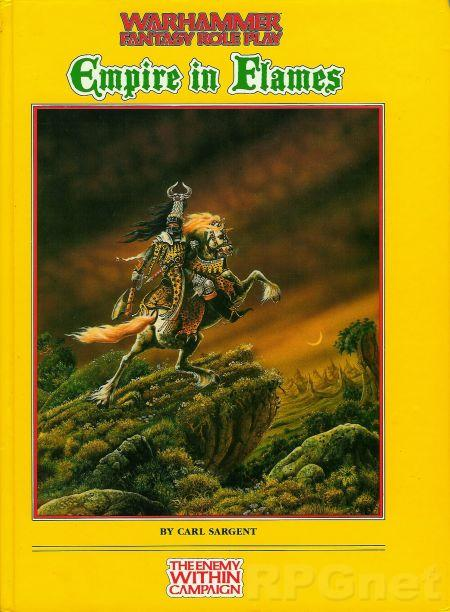 Warhammer Fantasy Roleplay 1st ed: Empire in Flames