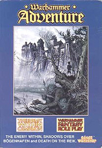Warhammer Fantasy Roleplay 1st ed: Warhammer Adventure, The Enemy Within Campaign - Used