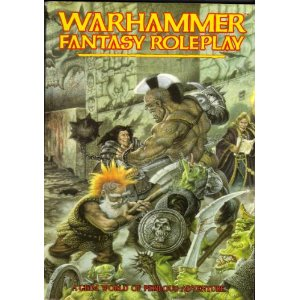 Warhammer Fantasy Roleplay 1st ed: A Grim World of Perilous Adventure (Soft Cover) - Used