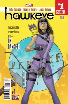 Hawkeye no. 1 (2016 Series)