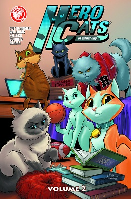 Hero Cats: Volume 2 TP