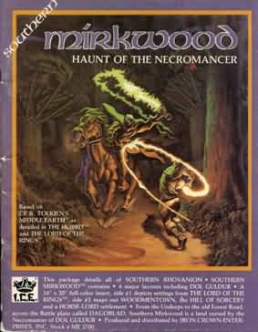 Southern Mirkwood: Haunt of the Necromancer - Used