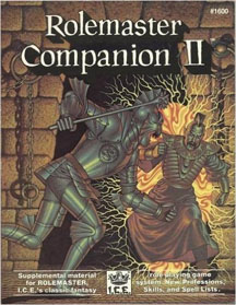 Rolemaster Companion II - Used