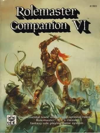 Rolemaster: Companion VI - Used