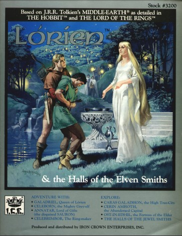 Middle Earth: Lorien and Halls of The Elven Smiths - Used