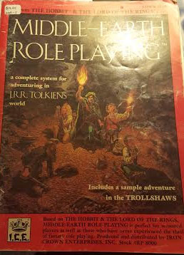 Middle-Earth Role Playing: A Complete System for Adventuring: 8000 - Used