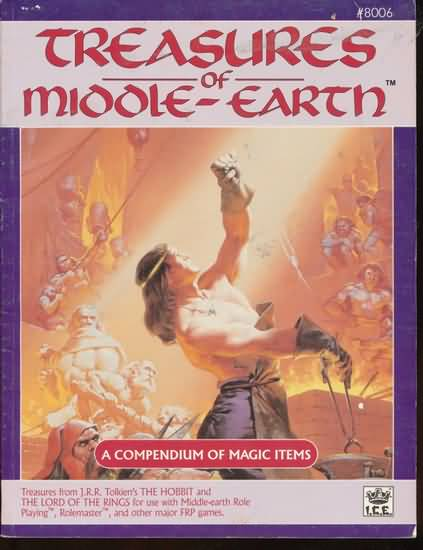 Treasures of Middle-Earth: a Compendium of Magic Items - Used