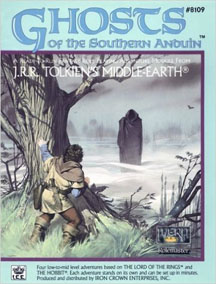 Middle-Earth Role Playing: Ghosts of the Southern Anduin - Used