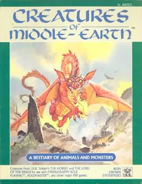 Creatures of Middle-Earth: A Bestiary of Animals and Monsters - Used