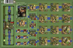 Heroes of Normandie: US Rangers Punchboard