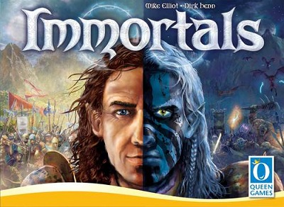 Immortals Board Game - USED - By Seller No: 7709 Tom Schertzer