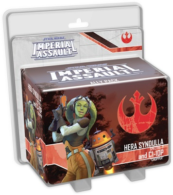 Star Wars: Imperial Assault: Hera Syndulla and C1-10P