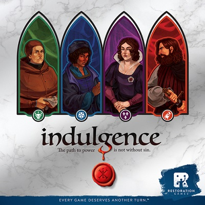 Indulgence Card Game - USED - By Seller No: 12677 Kathryn R Robertson