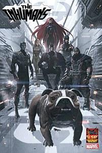 Inhumans 50th Anniversary Poster