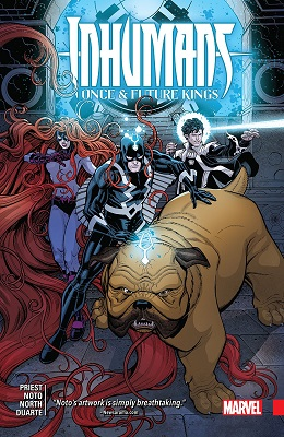 Inhumans: Once and Future Kings TP