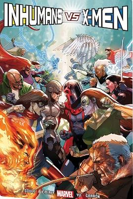 Inhumans Vs X-Men HC