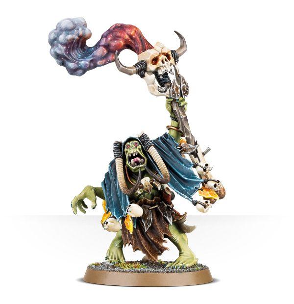 Warhammer: Age of Sigmar: Ironjawz Orruk Weirdnob Shaman 89-27