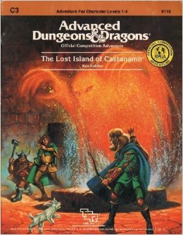 Dungeons and Dragons 1st ed: The Lost Island of Castanamir - Used