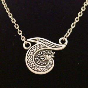 Celtic Alhpabet Necklace: J001